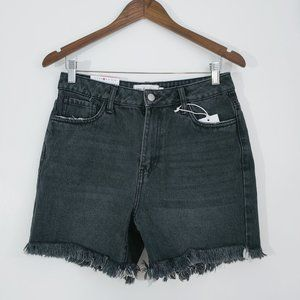 💰3/20$💰NWT URBAN PLANET black distressed shorts
